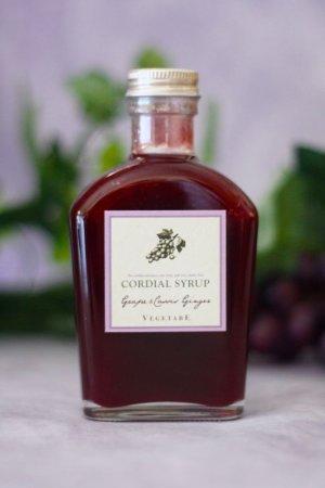 画像2: コーディアルシロップ(葡萄&カシスジンジャー)