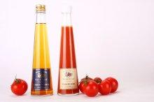 他の写真1: トマトクリスタル トマトルビー紅白2本セット(化粧箱入り)