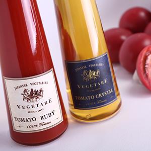 トマトクリスタル&トマトルビー紅白2本セット(化粧箱入り)
