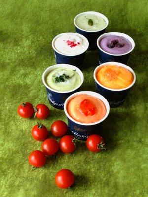 画像2: とれたて野菜と果実の生ジェラート&伝統和モダンセット