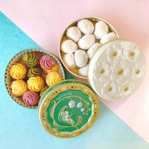 画像2: グルテンフリーのほどけるクッキー2缶セット&国産オレンジレモンコーディアル(化粧箱入り)