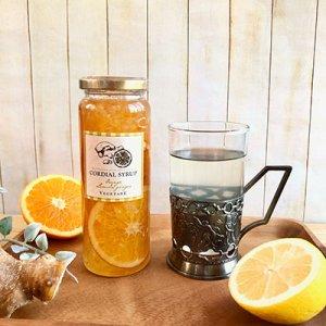 画像1: コーディアルシロップ(国産オレンジ&レモンジンジャー)