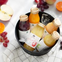 国産果実100%ジュース&ネクター5本セット(化粧箱入り)