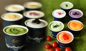 画像1: とれたて野菜と果実の生ジェラート&伝統和モダンセット