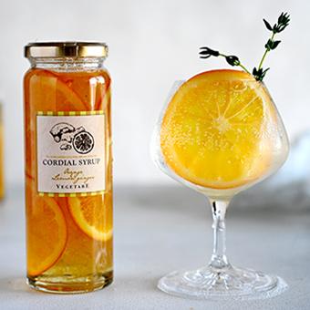 オレンジ&レモンジンジャーコーディアル
