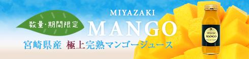 数量・期間限定 宮崎県産 極上完熟マンゴージュース