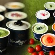 とれたて野菜と果実の生ジェラート&伝統和モダンアイスジェラートセット