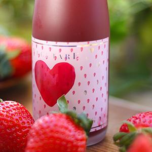 苺のノンアルコールスパークリング(ハーフボトル)