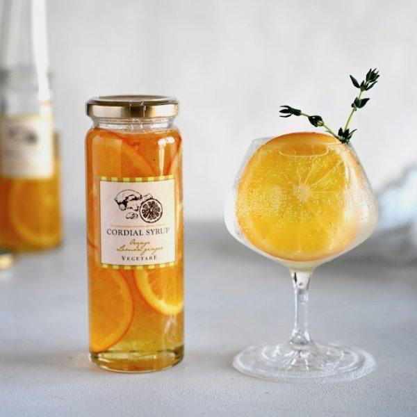 画像1: コーディアルシロップ(国産オレンジ&レモンジンジャー) (1)