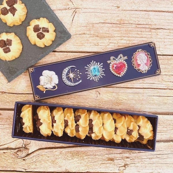 画像1: グルテンフリーの宝石箱クッキー(チョコチャンク) (1)